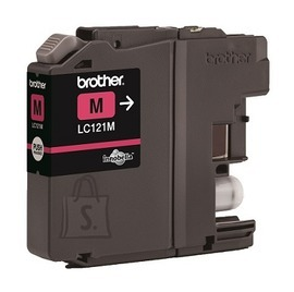 Brother Brother LC-121M Ink Cartridge, Magenta