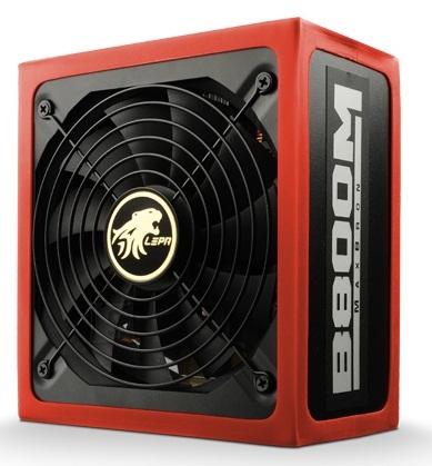Lepa MaxBron PSU 80+ Bronze, 800 W  800 W, 792 W,  LEPA 80+ Bronze  power supply - 800 Watt, DC output +12V- 65A/780W W
