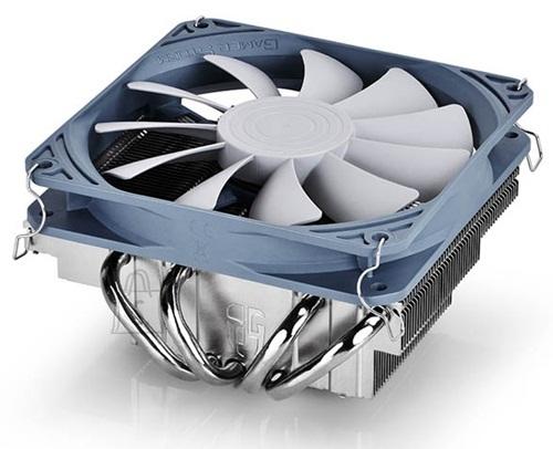 "Deepcool Deepcool  ""Gabriel"" universal low profile cooler, 120 mm fan, 4 heat pipes  - Intel: LGA 115X; AMD: FM2+/ AM3 deepcool ""Gabriel"" universal low profile cooler, 120 mm fan, 4 heat pipes - Intel: LGA 115X; AMD: FM2+/ AM3 universal"