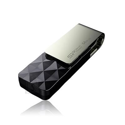 Silicon Power Silicon Power Blaze B30 64 GB, USB 3.0, Black