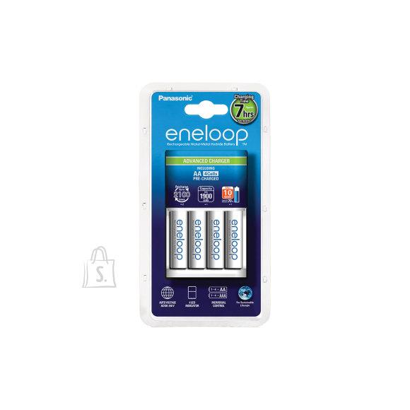 Panasonic Panasonic eneloop Advanced Battery Charger 1-4 AA/AAA, 4xAA 1900 mAh icl.