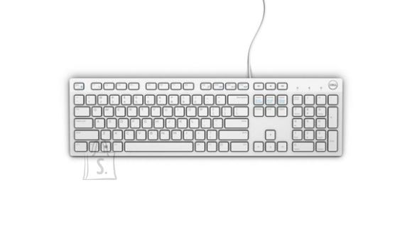 Dell Dell KB216 Multimedia, Wired, Keyboard layout EN, USB, White, English,