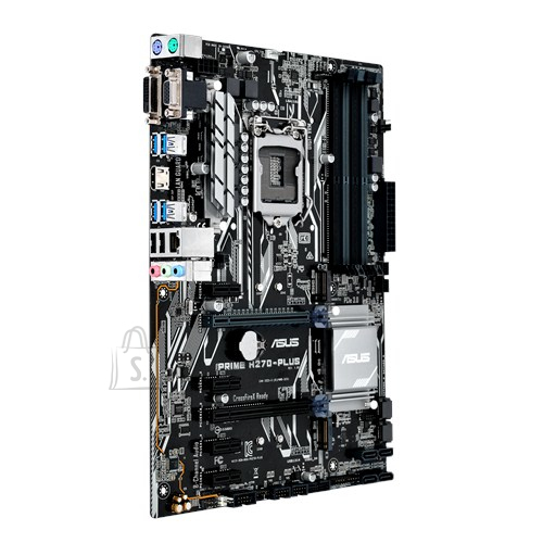 Asus Asus PRIME H270-PLUS Processor family Intel, Processor socket LGA1151, DDR4-SDRAM, Memory slots 4, Supported hard disk drive interfaces M.2, Serial ATA III, Number of SATA connectors 6, Chipset Intel H, ATX