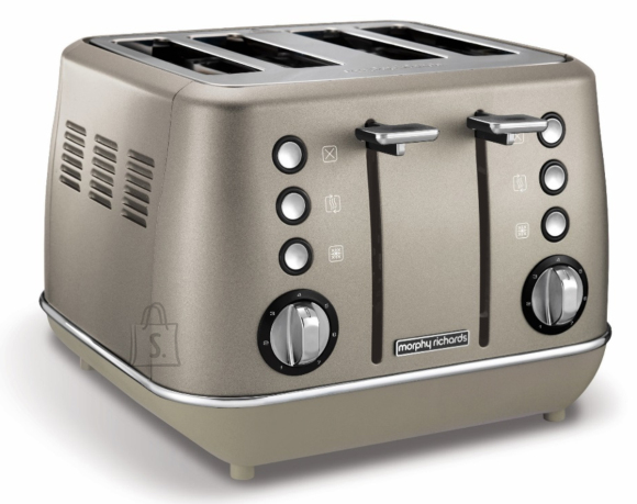 Morphy Richards Morphy richards Evoke Toaster  240103 Power 1800 W, Number of slots 4, Housing material Stainless steel, Platinum