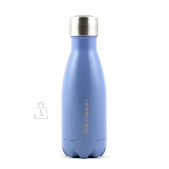Yoko Design Yoko Design Isothermal Bottle  1340-7750B  Mat coat blue, Capacity 0.26 L, Diameter 6.5 cm
