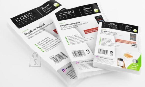 Caso Caso Vacuum Sealer bags 15 x 20 cm, 100 pcs., Transparent