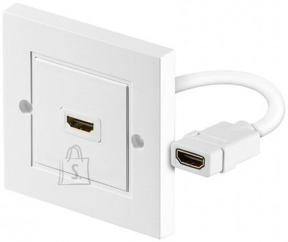 Goobay Goobay 51722 HDMI™ wall socket, gold-plated Goobay