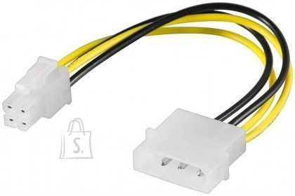 Goobay Goobay 51362 <br /> PC power cable/adapter; 5.25 inch male to ATX12 P4;