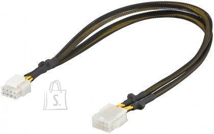 Goobay Goobay 93870 Power extension cable for PC graphics cards; PCI-E/PCI Express 8-pin, 0.44m