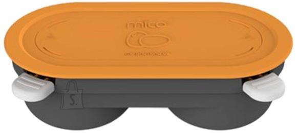 Morphy Richards Morphy richards Mico Egg Maker Heatwave Technology Microwave Cookware, Orange / grey, Dishwasher proof