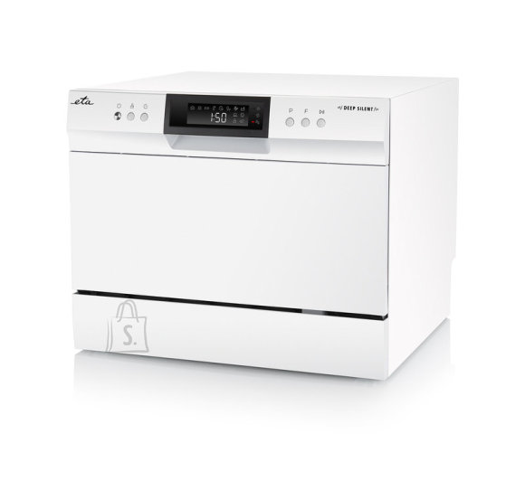 ETA ETA Dishwasher ETA138490000 Table, Width 55 cm, Number of place settings 6, Number of programs 8, A+, Display, AquaStop function, White