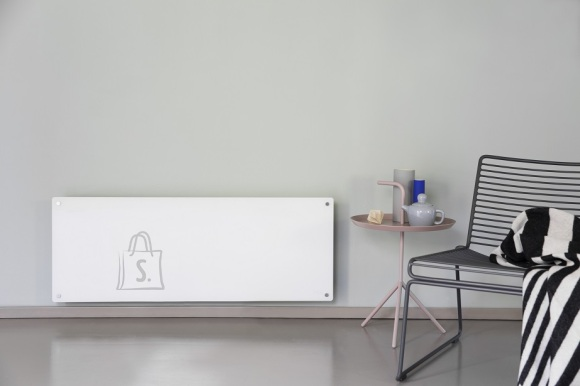 Mill Mill Glass MB1200DN Panel Heater, 1200 W, Suitable for rooms up to 18 m², White