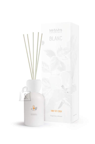 Mr&Mrs Mr&Mrs BLANC Mint of Cuba Liquid diffuser, Bergamot, mint, vetiver