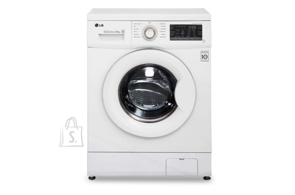LG LG Washing Machine FH2J3TDN0 Front loading, Washing capacity 8 kg, 1200 RPM, Direct drive, A+++, Depth 55 cm, Width 60 cm, White, LED,