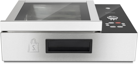 Caso Caso Chamber vacuum sealer VacuChef Slimline Automatic, Vacuum-chamber Integrated, Film Box, 1 welding bar and 30 vacuum bag 20x30 cm, Stainless steel