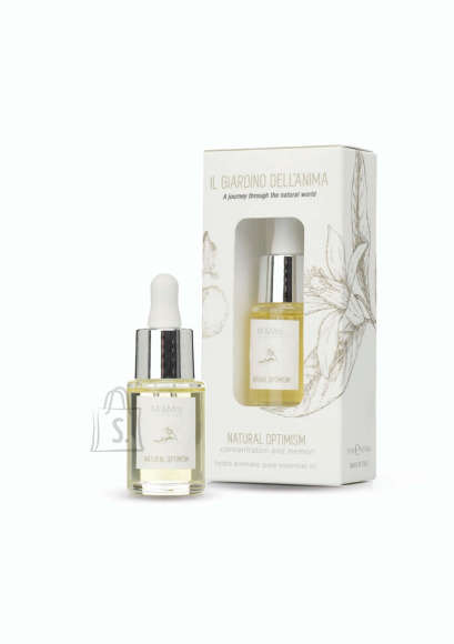 Mr&Mrs Mr&Mrs The Giardino dell'Anima Hydro aromatic oil JGIAOIL004 15 ml, Natural Optimism. Concentration and memory, Height 8 cm, Width 2.7 cm, White