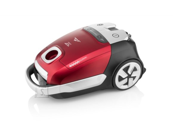 ETA ETA Vacuum Cleaner  ADAGIO Bagged, Red, 800 W, 4.5 L, A, A, A, A, 66 dB, HEPA filtration system, 230 V