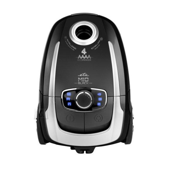 ETA ETA Vacuum Cleaner MIO II Animal Bagged, Black, 700 W, 4 L, A, A, A, A, 71 dB, HEPA filtration system, 230 V