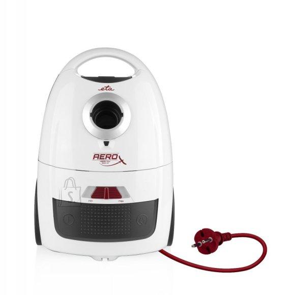 ETA ETA Vacuum Cleaner AERO Bagged, White, 700 W, 2 L, A, A, D, A, 77 dB, HEPA filtration system, 230 V