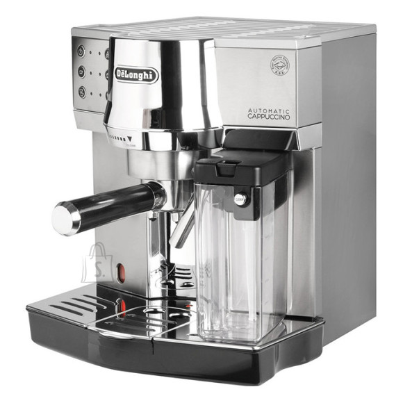 DeLonghi Delonghi Coffee maker EC 850.M Pump pressure 15 bar, Built-in milk frother, Semi-automatic, 1450 W, Silver