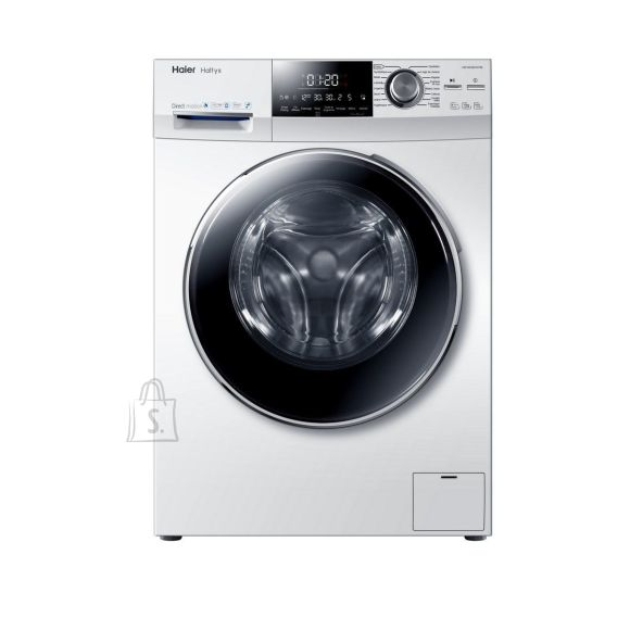 Haier Haier Washing machine HW80-BD14756 DE Front loading, Washing capacity 8 kg, 1400 RPM, Direct drive, A+++, Depth 60 cm, Width 60 cm, White, LED,