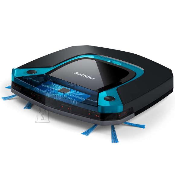 Philips Philips SmartPro Easy vacuum cleaner  FC8794/01 Robot, Black/ blue, 0.4 L, Cordless, 14.8 V, 105 min
