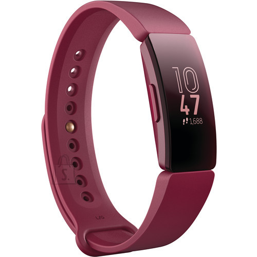 Fitbit Fitbit Inspire Fitness Tracker FB412BYBY OLED, Sangria, Touchscreen, Bluetooth, Built-in pedometer, Waterproof