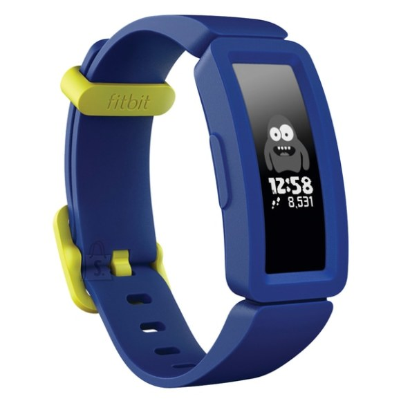 Fitbit Fitbit Ace2  Smart Watche Touchscreen, Bluetooth,  Night Sky / Neon Yellow, Waterproof, 50 m