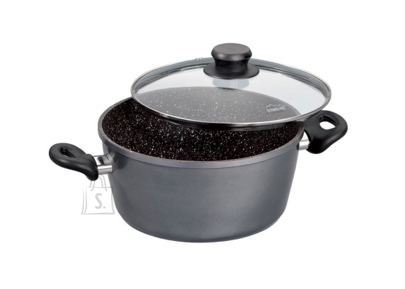 Stoneline Stoneline Cooking pot 6741 2 L, 18 cm, die-cast aluminium, Grey, Lid included