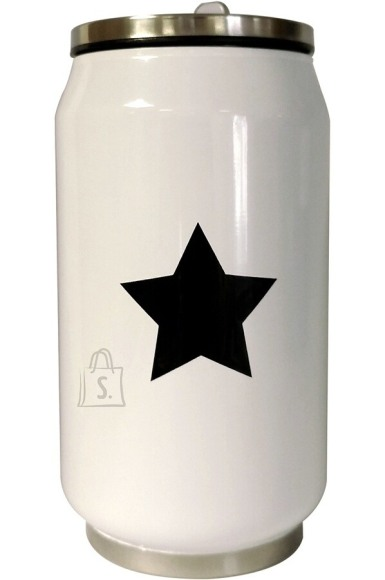 Yoko Design Yoko Design 1380/7821 Isothermal tin can, White/ black, Capacity 0.28 L,