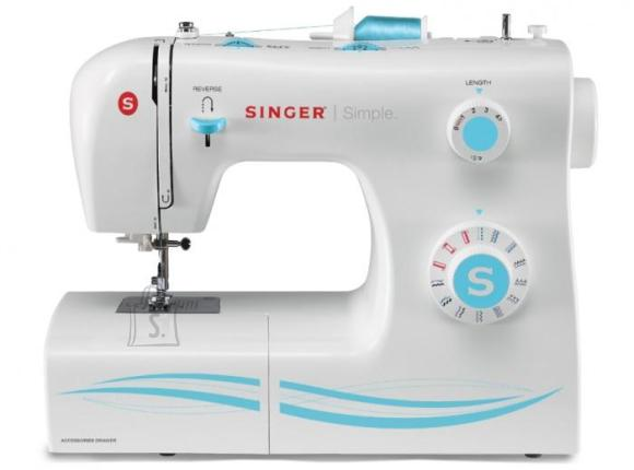 Singer Singer SMC 2263/00  Sewing Machine Singer 2263 White, Number of stitches 23 Built-in Stitches, Number of buttonholes 1, Automatic threading