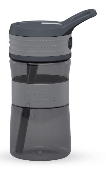 Boddels EEN Drinking bottle Bottle, Light grey/Grey, Capacity 0.4 L, Diameter 7.5 cm, Bisphenol A (BPA) free
