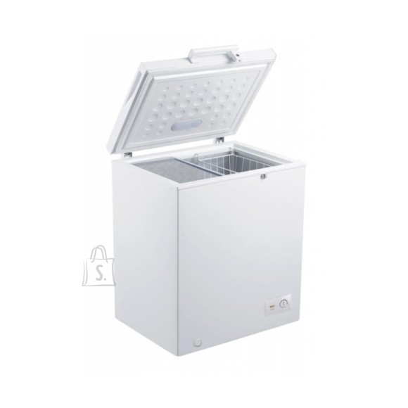 Goddess Goddess Freezer GODFTE0145WW8 Chest, Height 84.6 cm, Total net capacity 145 L, A+, Freezer number of shelves/baskets 1, White, Free standing
