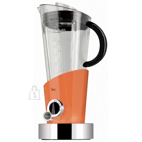 Bugatti Bugatti Vela Evolution Blender 12-EVELACO Orange, 500 W, Tritan PTC BPA free jar, 1.5 L, Ice crushing, Type Stand blender