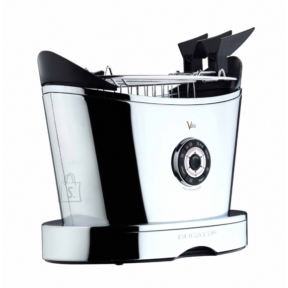 Bugatti Bugatti Volo Toaster 13-SVOLOCR Chrome, Steel, 930 W, Number of slots 2, Number of power levels 6, Bun warmer included