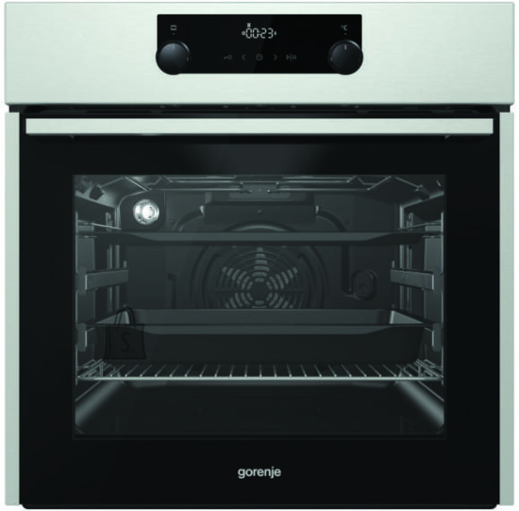 Gorenje Gorenje Oven BO735E11X 71 L, Stainless steel, AquaClean, A, Mechanical, Height 60 cm, Width 60 cm, Integrated timer, Electric