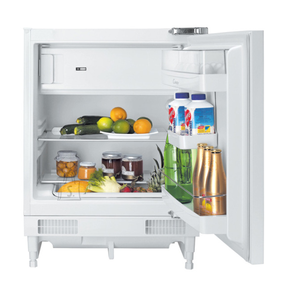 Candy Candy Refrigerator CRU 164 NE A+, Built-in, Larder, Height 82 cm, Fridge net capacity 100 L, Freezer net capacity 17 L, 43 dB, White