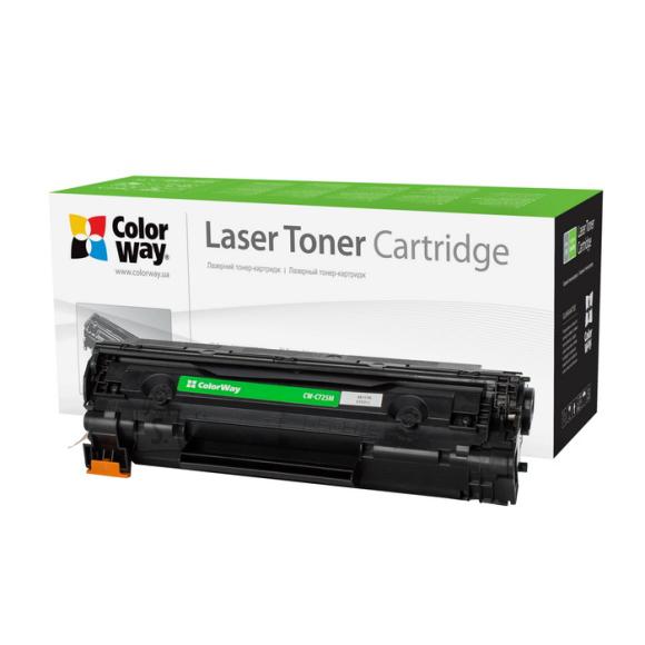 ColorWay Econom toner cartridge for Canon:725, HP CE285A ColorWay Econom Toner Cartridge, Black
