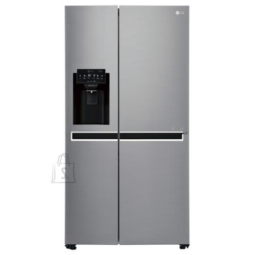 LG LG Refrigerator GSL761PZUZ Free standing, Side by Side, Height 179 cm, A++, No Frost system, Fridge net capacity 405 L, Freezer net capacity 196 L, Display, 39 dB, Inox
