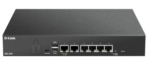D-Link D-Link DFL-870 NetDefend UTM Firewall Ethernet LAN (RJ-45) ports 6