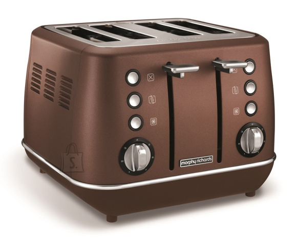 Morphy Richards Morphy richards Evoke Toaster  240101 Power 1800 W, Number of slots 4, Housing material Stainless steel, Bronze