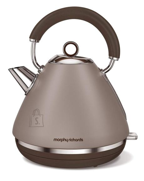 Morphy Richards Morphy richards Accents Pyramid Kettle 102102 Standard, 3000 W, 1.5 L, Stainless steel, Pebble, 360° rotational base