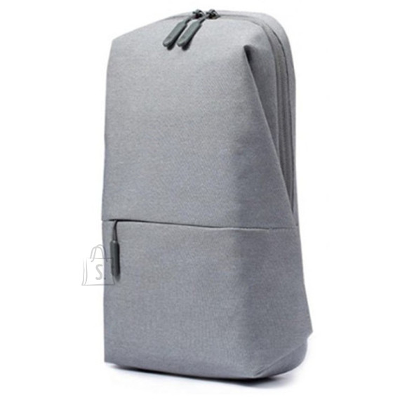 "Xiaomi Xiaomi Mi City Sling Bag Fits up to size 10 "", Light Grey, Shoulder strap, Backpack"