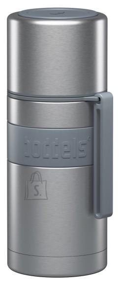 Boddels HEET Vacuum flask with cup  Light grey, Capacity 0.35 L, Diameter 7.2 cm, Bisphenol A (BPA) free