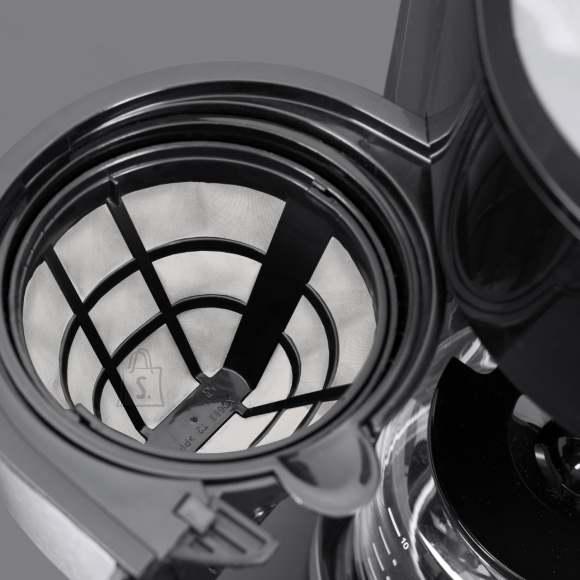 Caso Caso Coffee machine with grinder Grande Aroma 100 Drip, 1000 W, Black