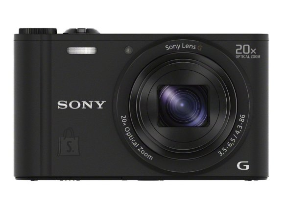 Sony Sony Cyber-shot DSC-WX350 Compact camera, 18.2 MP, Optical zoom 20 x, Digital zoom 40 x, Image stabilizer, ISO 12800, Display diagonal 7.62 cm, Wi-Fi, Video recording, Black