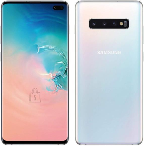 Samsung Galaxy S10+ Prism White, 6.4 nutitelefon