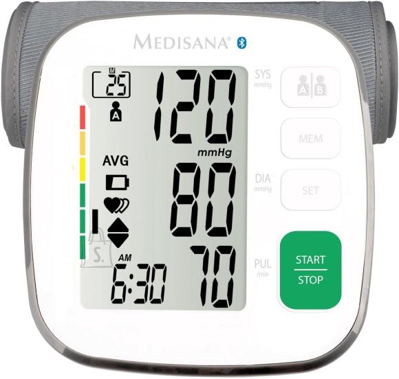 Medisana Medisana BU 540 White, Arm blood pressure monitor, Bluetooth