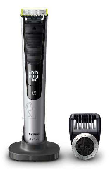 Philips Philips OneBlade Pro Shaver QP6520/20 Wet & Dry No, Silver