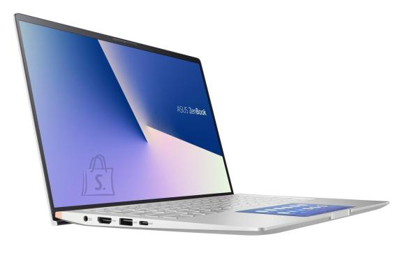 "Asus Asus ZenBook UX434FLC-A5305T Silver, 14 "", FHD, 1920 x 1080 pixels, Matt, Intel Core i7,  i7-10510U, 16 GB, SSD 1000 GB, Intel UHD Graphics 620, NVIDIA GeForce MX250, GDDR5, 2 GB, No ODD, Windows 10 Home, 802.11ax, Bluetooth version 5.0, Keyboard language English, Keyboard backlit, Warranty 24 month(s), Battery warranty 12 month(s)"